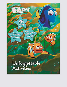 Disney Pixar Finding Dory Unforgettable Activities, , catlanding