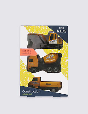3 Pack Construction Vehicles, , catlanding