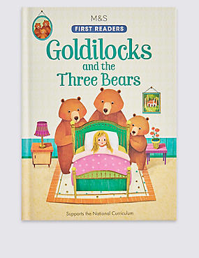 Goldilocks & the Three Bears Book, , catlanding