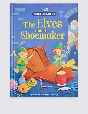 The Elves & the Shoemaker Book, , catlanding