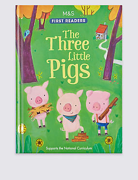 The Three Little Pigs Book, , catlanding
