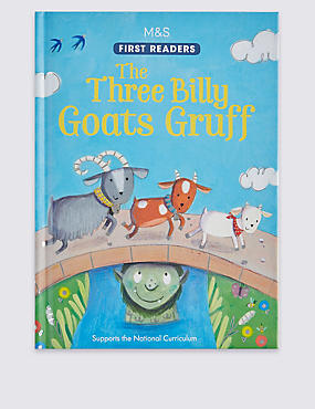 The Three Billy Goats Gruff Book, , catlanding