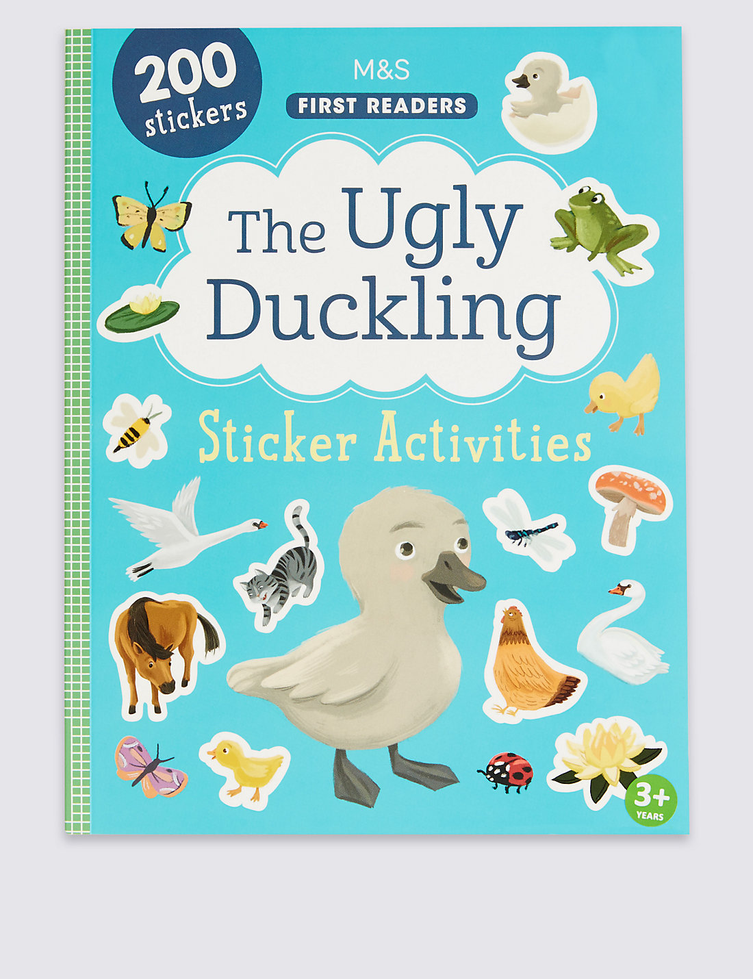 the ugly duckling sticker book m u0026s