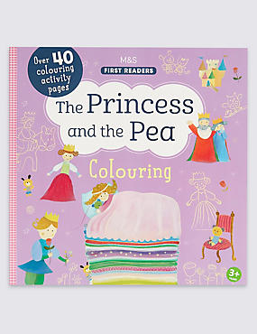 The Princess & the Pea Colouring Book, , catlanding