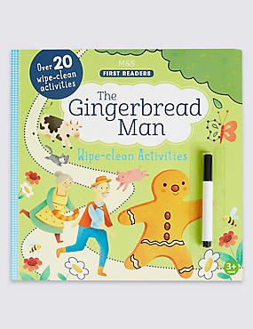 The Gingerbread Man Wipe-Clean Book, , catlanding