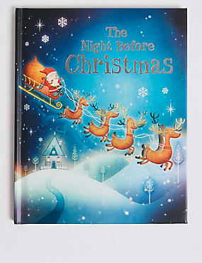 The Night Before Christmas Book, , catlanding