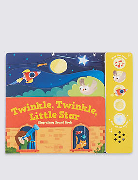 Twinkle, Twinkle, Little Star Sound Book, , catlanding