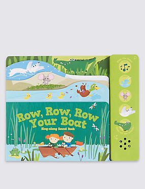 Row, Row, Row Your Boat Sound Book , , catlanding
