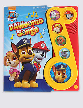 Little Musical Note Paw Patrol Book, , catlanding