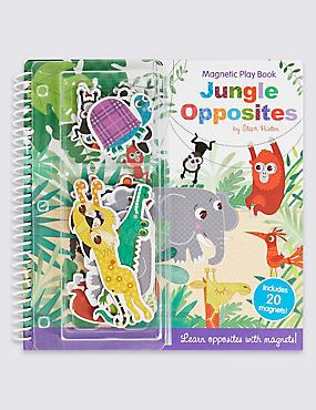 Jungle Opposites Magnetic Play Book, , catlanding