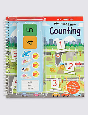 Magnetic Play & Learn Counting Book, , catlanding