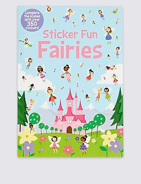Sticker Fun Fairies Book, , catlanding