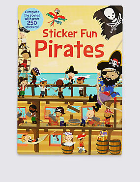Sticker Fun Pirates Book, , catlanding