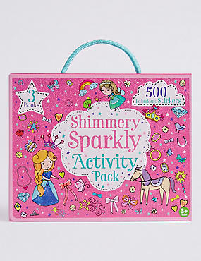 Shimmery Sparkly Activity Pack, , catlanding