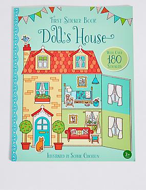 First Sticker Book Dolls House, , catlanding