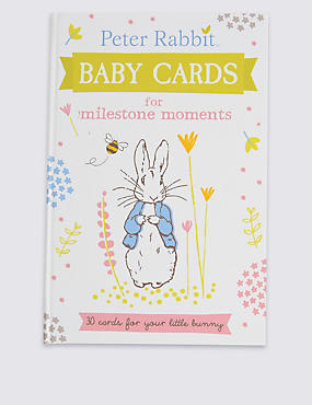 Peter Rabbit™ Baby Cards, , catlanding