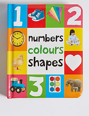 Numbers, Colours & Shapes, , catlanding