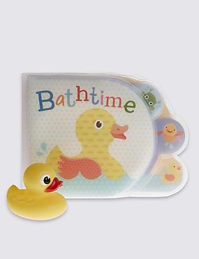 Bath Time Duck Book, , catlanding