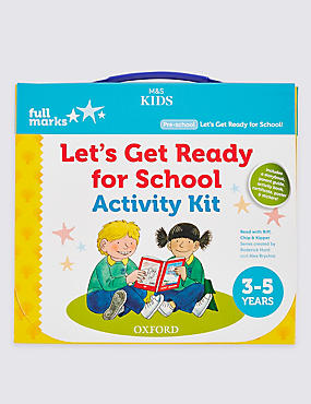 Let's Get Ready for School Activity Kit, , catlanding