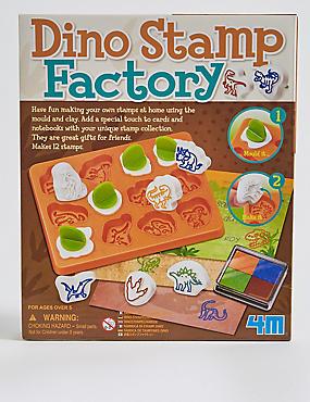 Dinosaur Stamp Factory Craft Kit, , catlanding
