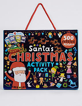 Santa's Christmas Activity Pack, , catlanding