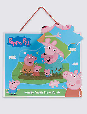 Peppa Pig™ Muddy Puddle Floor Puzzle, , catlanding