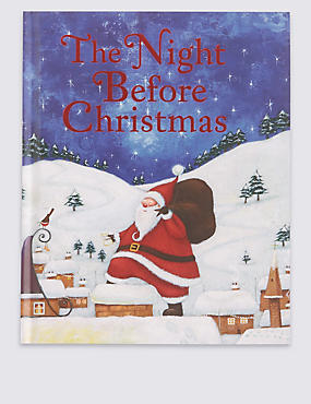 Night Before Christmas Book, , catlanding
