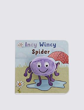 Finger Puppet Incy Wincy Spider, , catlanding