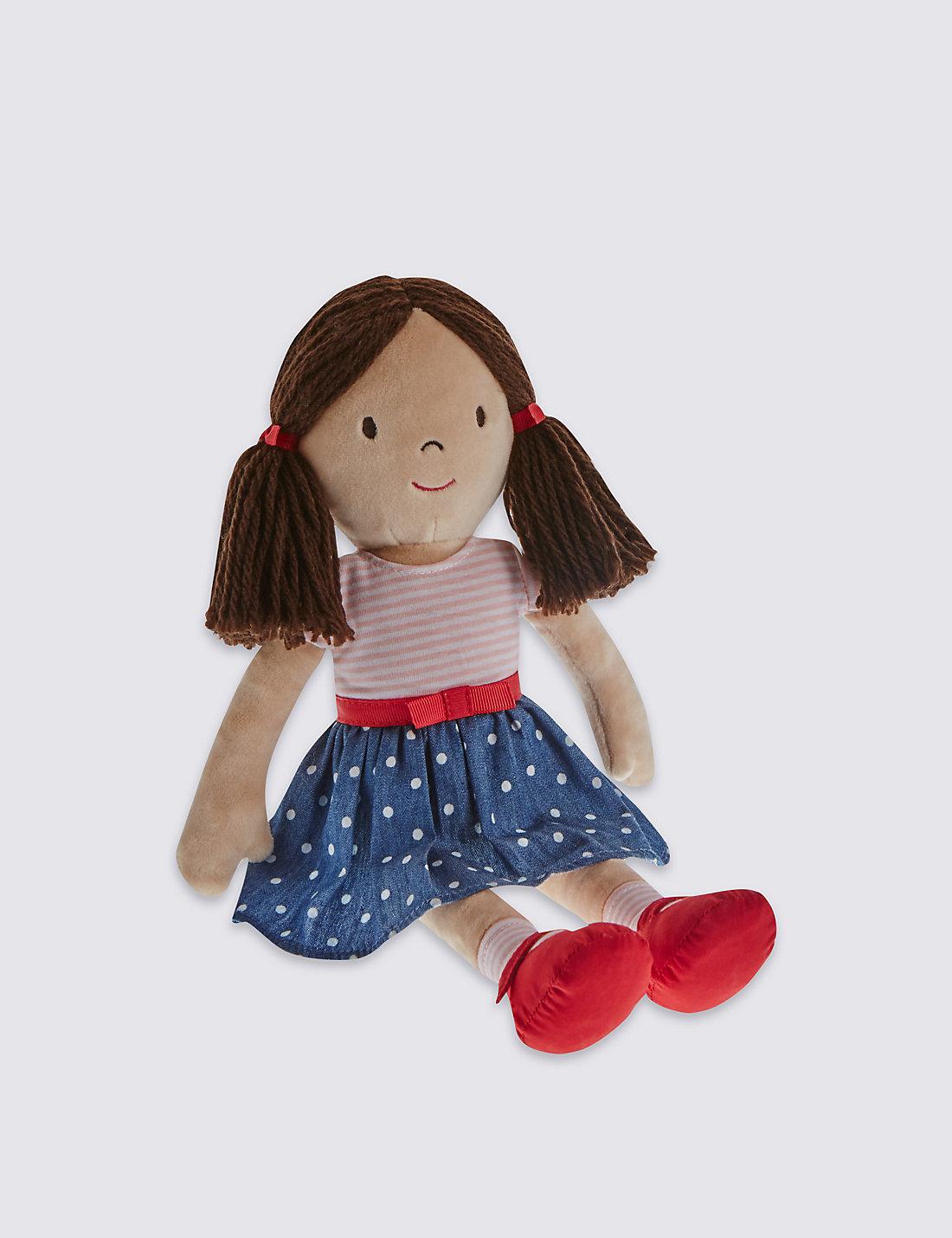 Save fruit doll - Charlotte Rag Doll