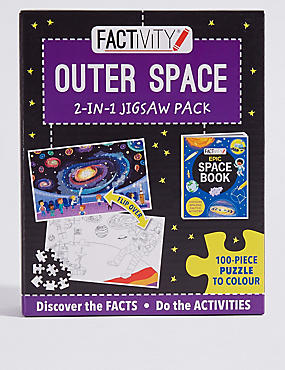 Factivity Outer Space Puzzle Game, , catlanding