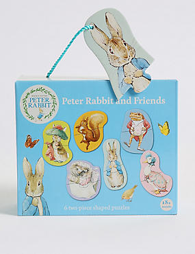 Peter Rabbit & Friends Puzzles, , catlanding