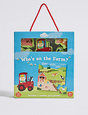 The Farm Puzzles, , catlanding
