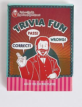 Professor Murphy's Trivia Fun Quiz Cards, , catlanding