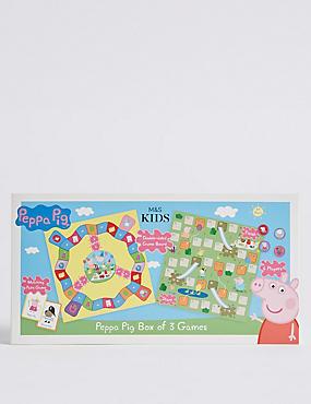 Peppa Pig™ Box of 3 Games, , catlanding