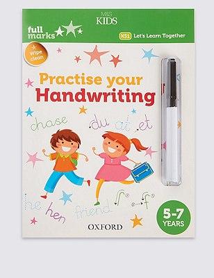 Practise Your Handwriting Book, , catlanding