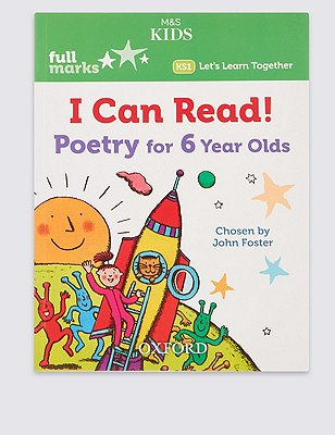 I Can Read! Poetry For 6 Year Olds Book, , catlanding