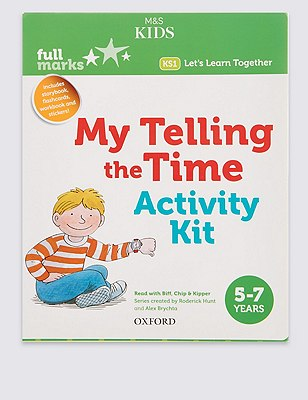 My Telling The Time Activity Kit Book, , catlanding