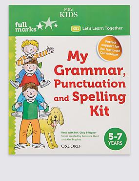 Full Marks My Grammar Punctuation & Spelling Kit, , catlanding