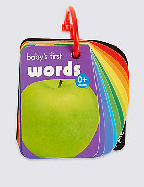 Baby's First Words Book, , catlanding
