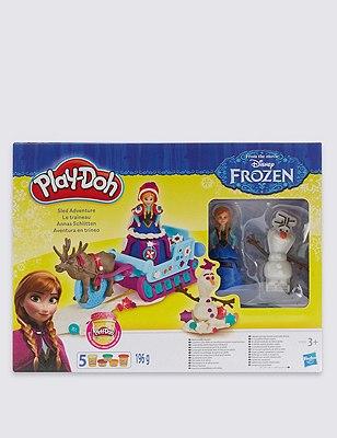 Disney Frozen Play-Doh Sled Adventure, , catlanding