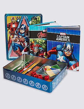 New Marvel Book Tin, , catlanding