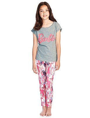 Barbie™ Pyjamas (6-16 Years), GREY MIX, catlanding