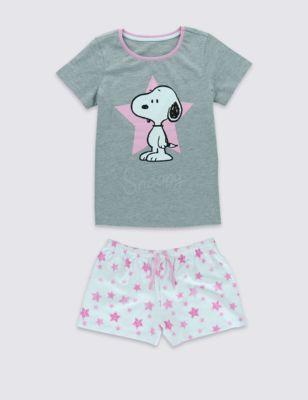 Мягкая короткая пижама Snoopy™ для девочки 6-16 лет T862628C