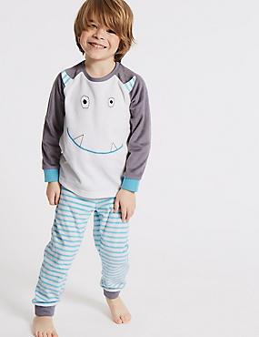 Monster Pyjamas (9 Months - 8 Years), GREY MIX, catlanding