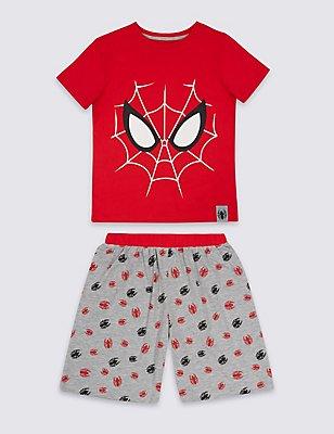 Pijama corto de Spider-Man™ (2-10años), MEZCLA DE ROJOS, catlanding