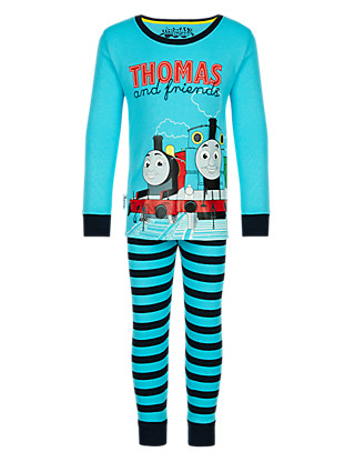 Pure Cotton Thomas & Friends™ Pyjamas (1-7 Years) Clothing