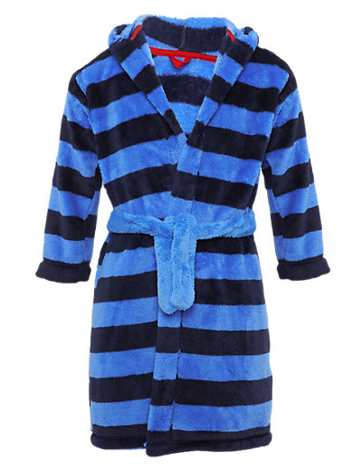 Waist Tie Tonal Striped Dressing Gown Clothing