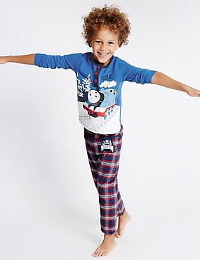 Pyjama à motif Thomas et ses amis™ (du 1 au 6ans), BLEU ASSORTI, catlanding