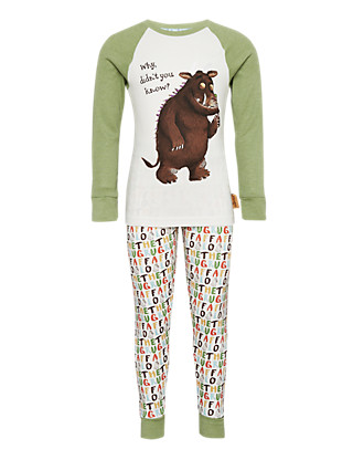 Pure Cotton The Gruffalo Pyjamas Clothing