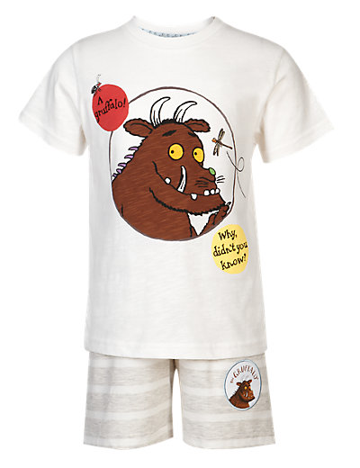 Pure Cotton Gruffalo Pyjama Shorts Set Clothing